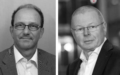 Prof. Gerhard Eisele und Josef Seiler